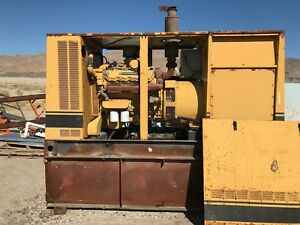 Used Caterpillar 3208 Diesel Generator For Sale 175 Kw 6900 Or Best Offer