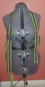 Miller Duraflex E650 ugnu Full Body Stretchable Safety Harness Universal Size