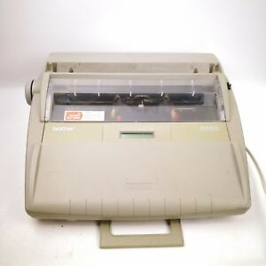 Brother Sx 4000 Electronic Lcd Display Typewriter Is Tested works