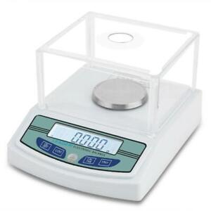 300g X 0 001g Lab Analytical Balance Scale Digital Precision Weighing With Level