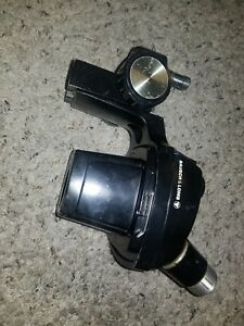 Used Bausch Lomb Stereo Zoom Microscope Head 0 7x 3x Adjustable Mount Vintage