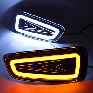 For Ford F 150 Svt Raptor White yellow Led Car Daytime Running Light Drive Lamp