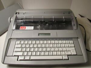 Brothers Sx 4000 Typewriter With Keyboard Cover With Correction Working