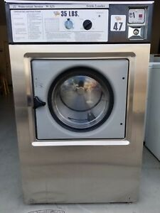 Coin Op Commercial Washer Front Load Wascomat 35lb as is 3 Phase
