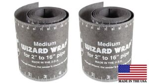 2 Each Flange Wizard Ww 17 Medium Wrap 60 Long Pipe 2 To 16 Diameter
