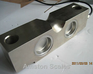 25 000 Lb Sensor Load Strain Gauge Weighing Legal For Trade Certified Cell New 5