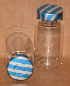 10 Ml Clear Sterile Vial With Blue Stripe Center Tear Seal Qty 25
