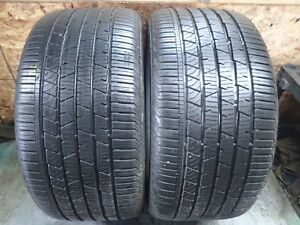 2 315 40 21 111h Continental Cross Contact Lx Sport Tires Full Tread 0517