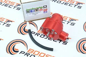 Boomba Racing Blow Off Valve Bov Red For 2015 Subaru Wrx 2014 Forester Xt