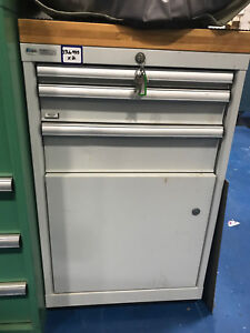 Lista 3 Drawer 1 Door Mobile Tool Cabinet Heavy Duty