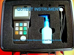 Portable Ultrasonic Thickness Gauge Meter Thru Coating Painting Or Standard Mode