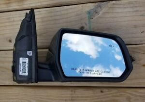 2018 Gmc Acadia Right Passenger Side Mirror With Blind Spot Alert Oem 7 Pin Plug