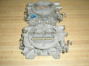Mopar Chrysler Superstock 426 Race Hemi Crossram Carter Afb Carburetors 3861s