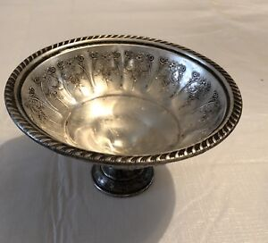 Sterling Hamilton Footed Candy Dish