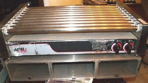 Used Apw wyott Hot Dog Roller Grill Model Hr50s With Bun Storage 115 Volt