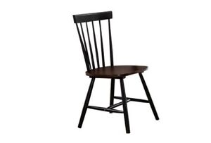 Set Of 4 Handcrafted Custom Made Colonial Style Chair Windsor Side Chair