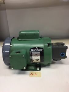 Viking Pump Gp0518 aov Hydraulic Pump 1 4hp Volts 115 230 208 warranty