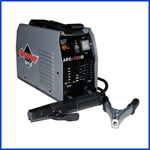 Ac Stick Welder 120 Volt 100 Amp Portable Thermal Overload Protection New