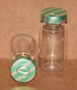10 Ml Clear Sterile Vial With Green Stripe Center Tear Seal Qty 100