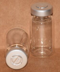 10 Ml Clear Sterile Vial With Natural silver Center Tear Seal Qty 50