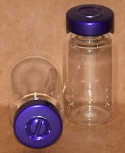 10 Ml Clear Sterile Vial With Purple Center Tear Seal Qty 100