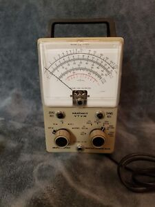 Heathkit Model Im 18 Vtvm Voltmeter Ohmmeter W Tubes And Leads