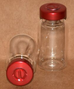 10 Ml Clear Sterile Vial With Red Center Tear Seal Qty 100