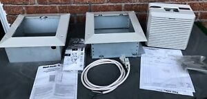 New Vent axia Extractor Shutter Fan Wall Mount Ventilation Exhaust Air Was 342
