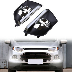 Led Drl Daytime Running Light For Ford Ecosport Mk2 Car Led Lamp Drl 2013 2016