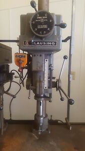 Clausing Drill Press A 2286 Drill Usa Made 220 Volt 3 Ph 67 Shaft