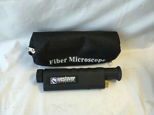 Fiber Optic Microscope Westover Scientific Cat C200 200x Scope 23x6cm Fr44