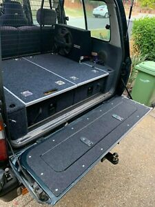 Fj80 Tailgate Storage Fzj80 Fj80 Lx450 Rear Draw