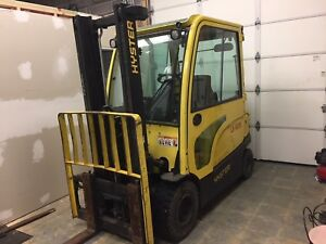 Hyster J60xn 6 000 Lbs Industrial Warehouse Forklift Lift Truck Electric