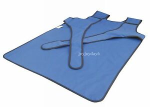Sanyi New Type X Ray Protection Protective Lead Vest Apron 0 35mmpb Blue Fa07 S