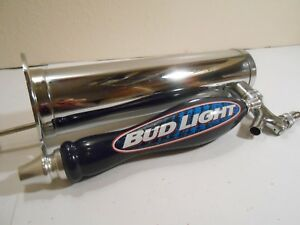 Chrome Single Stainless Steel Tower Bud Light Tap Faucet Draft Keg Kegerator
