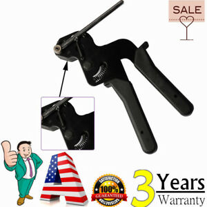 Tensioning Tools Guns Fasten Cutting Tool Plastic Nylon Cable Tie Gun Heavy Duty