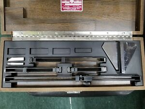 Starrett Ac 11 a 11 Ac11a 11 Inch Rectangular Inch System Steel And Croblox Set