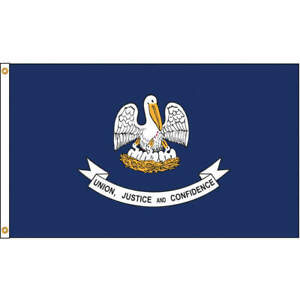 Nylglo Louisiana Flag 5x8 Ft nylon 142180