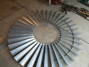 8ft Heller aller Windmill Wheel New