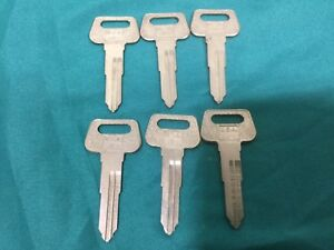 Curtis Ma Brand Key Blanks For Yamaha Set Of 6 Locksmith