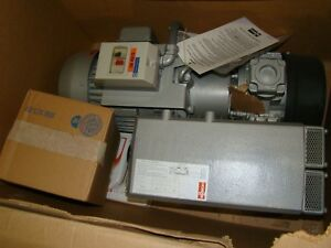 New Never Used Busch Rc0063 e506 1101 Vacuum Pump With 3 Quarts Of Oil