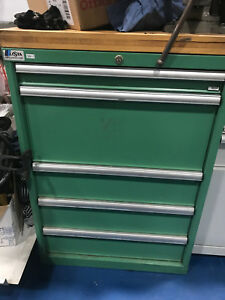 Lista 5 Drawer Mobile Tool Cabinet Heavy Duty