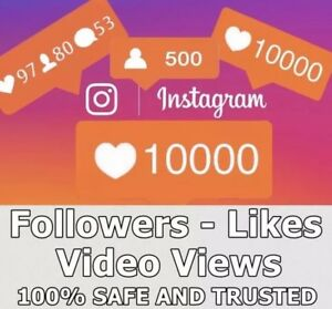 Real Instagram Service 10 000 Follow rs Lik s Vi ws Instant 100