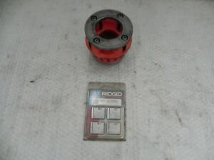 Ridgid 12r Die Head 1 1 2 Npt For Rigid 700 300 Nice New Style W New Dies