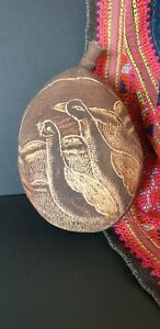 Old Australian Aboriginal Carved Kimberley S Boab Nut Beautiful Signed Collecti