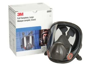 Genuine New 3m Mask Large Full Face Respirator 6900 Bundle Cartridge Filter