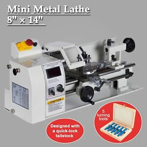 600w 8 X 14 Variable speed Mini Metal Lathe Milling Processing