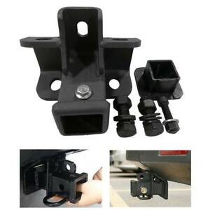 Black Tow Towing Trailer Hitch Receiver For Land Rover Lr3 Lr4 Range Rover Sport