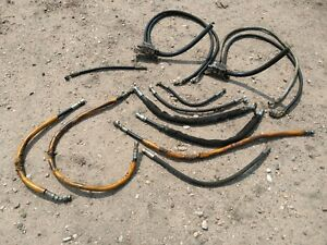 Wacker Rt820 Walk Behind Trench Roller Compactor Parts Hydraulic Line Hoses