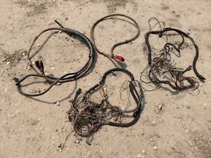 Wacker Rt820 Trench Roller Compactor Wiring Harness Wires Battery Cables